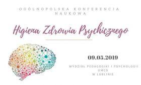 Konferencja Naukowa poświęcona Higienie Zdrowia Psychicznego