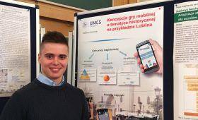 Student Mateusz Kamiński finalistą konkursu kartograficznego