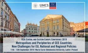 2019 RSA Central and Eastern Europe Conference, Lublin...