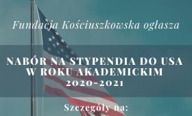 Stypendia Fundacji Kościuszkowskiej dla naukowców i artystów
