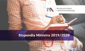 Informacja na temat stypendiów MNiSW na rok akademicki...