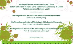 "6th International Conference ""Plant – the source of..."
