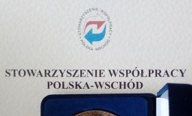 Medal Mickiewicz-Puszkin dla slawistów z UMCS