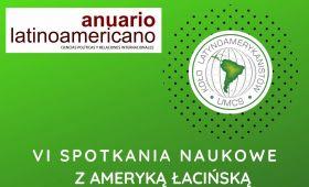 Zaproszenie na VI Spotkania Naukowe z Ameryką Łacińską