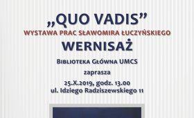Wystawa prac Sławomira Łuczyńskiego