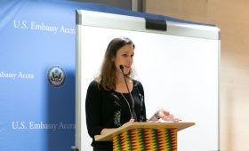 Spotkanie Konsula Stanów Zjednoczonych ze studentami...