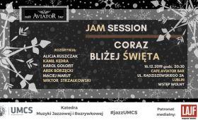 INVITATION TO CONCERT Coraz bliżej Święta // Jam Session //