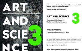 """ZAPROSZENIE NA WYSTAWĘ """"Art&Science"""""""