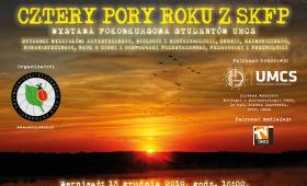 """Zaproszenie na Wernisaż """"Cztery pory roku z SKFP"""""""