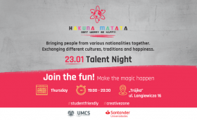 Hakuna Matata-Talent Night!