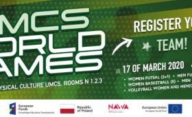 UMCS World Games - реєстрація вже відкрита!
