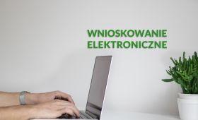 Wnioskowanie elektroniczne - pomoc materialna