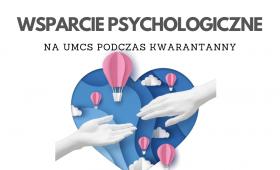 Wsparcie psychologiczne na UMCS podczas kwarantanny