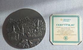 Medal Prezydenta Miasta Lublin dla prof. dr hab. Mariusza...