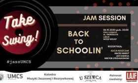 INVITATION TO CONCERT Back to Schoolin' // Jam...