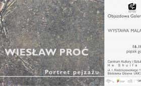 "INVITATION TO EXHIBITION ""Portret pejzażu"" by..."