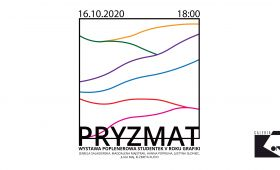 "INVITATION TO EXHIBITION ""Pryzmat"""