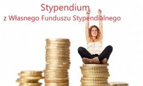 Stypendium z Własnego Funduszu Stypendialnego