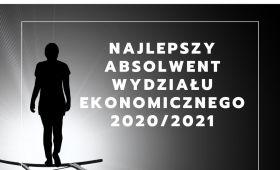 Najlepszy absolwent Wydziału Ekonomicznego 2019/2020