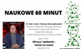 Wykład dra hab. n. med. Tomasza Dzieciątkowskiego -...