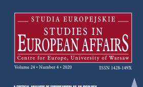 "The scientific quarterly ""Studia Europejskie – Studies in..."