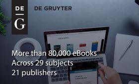 De Gruyter Publishing House publications access