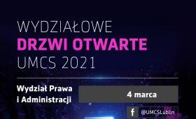 Wydziałowe Drzwi Otwarte – Poznaj WPiA UMCS!