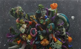 """Invitation to exhibition """"TOY STORIES"""""""