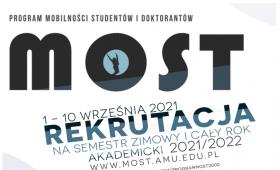 Program MOST - rekrutacja rusza 1 września