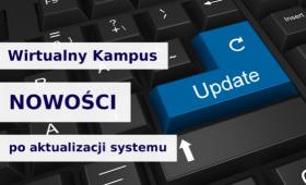 """Webinarium """"Wirtualny Kampus – nowości po aktualizacji..."""