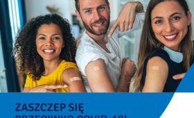 """""""Przystanek szczepienie"""" - zaproszenie do udziału w akcji"""