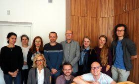 Współpraca z naukowcami z Uniwersytetu Wileńskiego