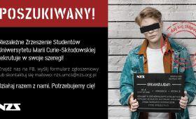 Niezależne Zrzeszenie Studentów rekrutuje w swoje szeregi!