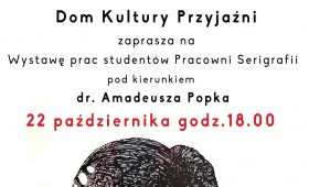 Invitation to exhibition of works by students of the...
