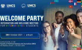 WELCOME PARTY for International Students at UMCS