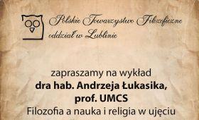 Zapraszamy na referat dra hab. Andrzeja Łukasika, prof....
