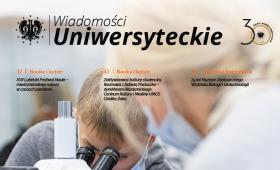 Wiadomości Uniwersyteckie - wydanie październikowe