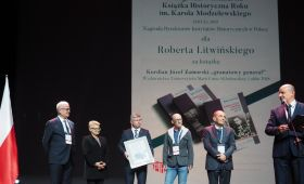 """Nagroda w konkursie """"Książka Historyczna Roku"""""""