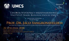 Spotkanie z prof. dr. Jaco Vangronsveldem