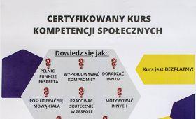 Certyfikowany kurs kompetencji społecznych