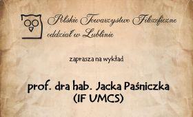 """Na referat """"Logika fikcji"""" zaprasza Polskie..."""