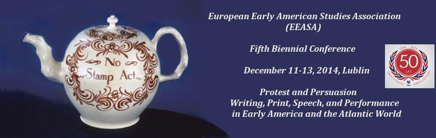 European Early American Studies Association: Lublin 2014