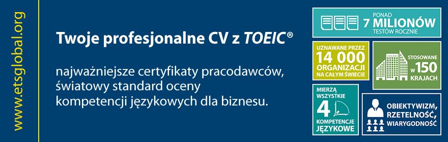 Twój profesjonalny wizerunek z Certyfikatem TOEIC®