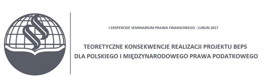 Witamy na stronie Eksperckiego Seminarium Prawa Finansowego