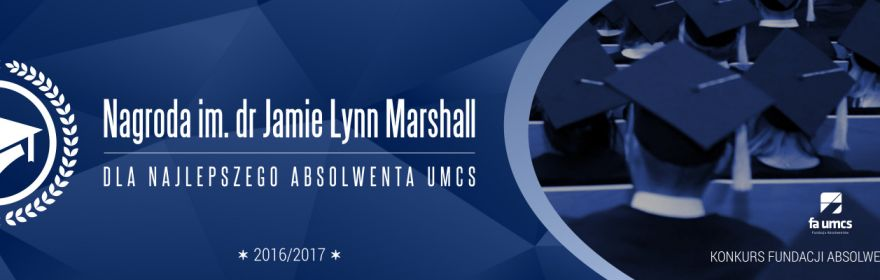 Nagroda im. dr Jamie Lynn Marshall dla Najlepszego...