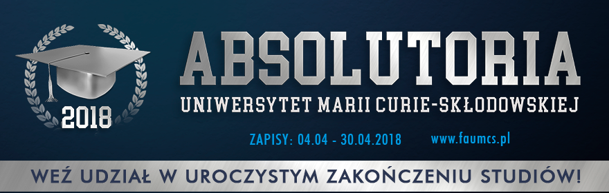 ABSOLUTORIA UMCS 2018