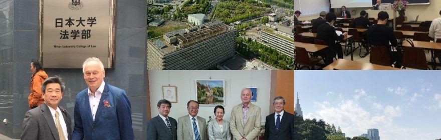 Relacja z wyjazdu naukowego Profesora A. Hanusza do Tokio