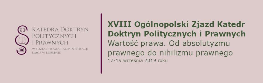 Ogólnopolski Zjazd Katedr Doktryn Politycznych i Prawnych