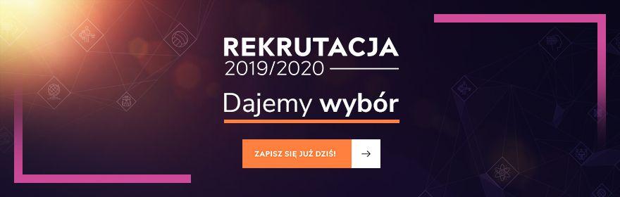 Rekrutacja na studia 2019/2020