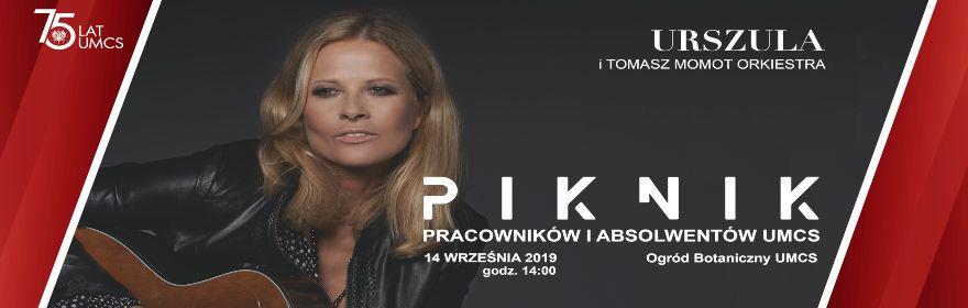 Urszula gwiazdą Pikniku Pracowników i Absolwentów UMCS